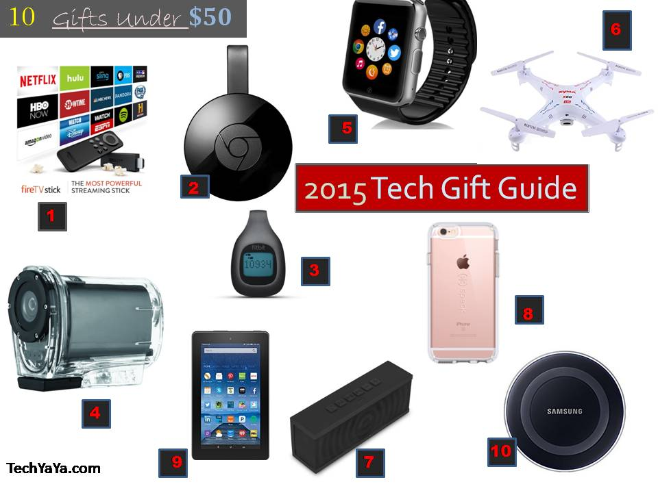 Tech Gift Guide 10 Must Have Gadgets Under 50 Techyaya