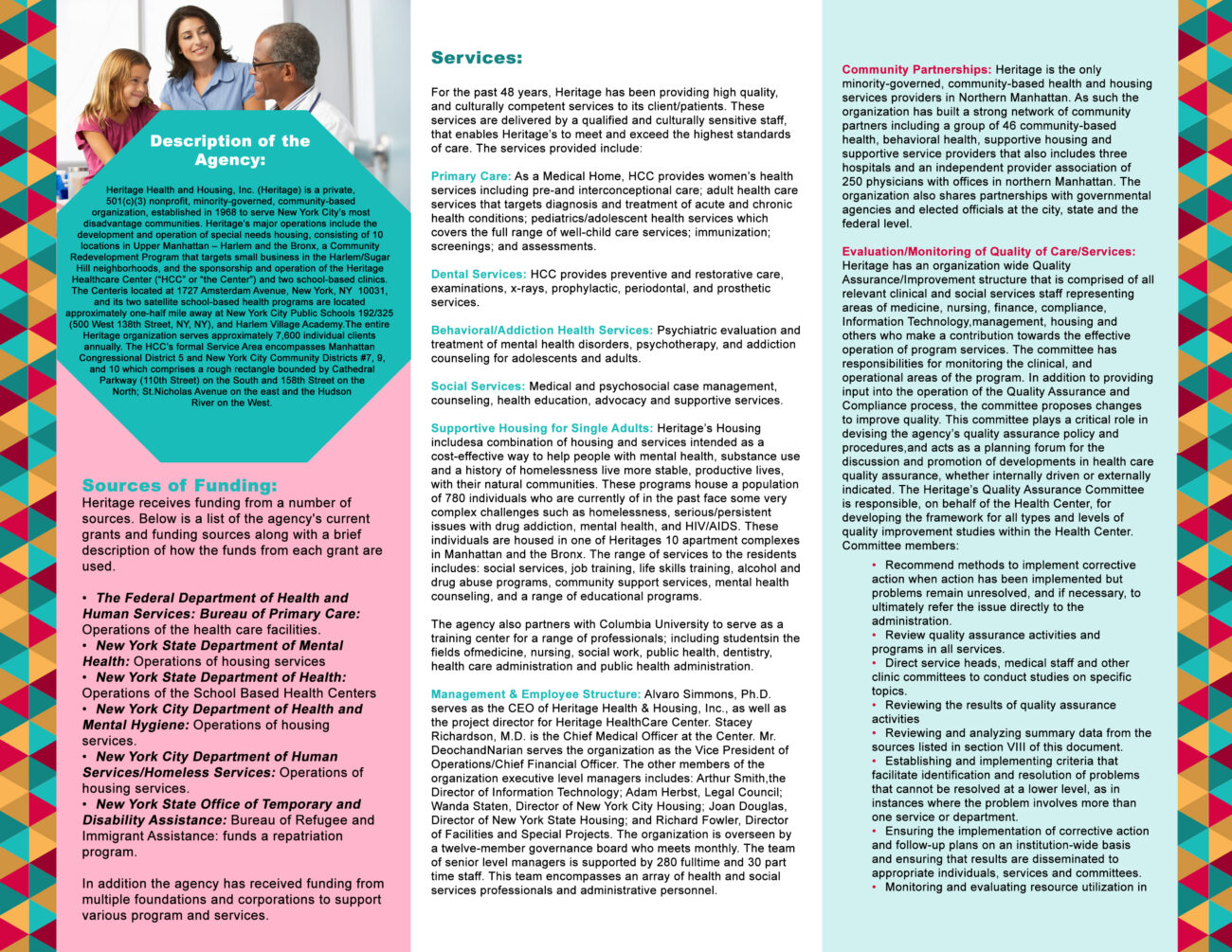 Heritage Health and Housing Brochure1(Inside)