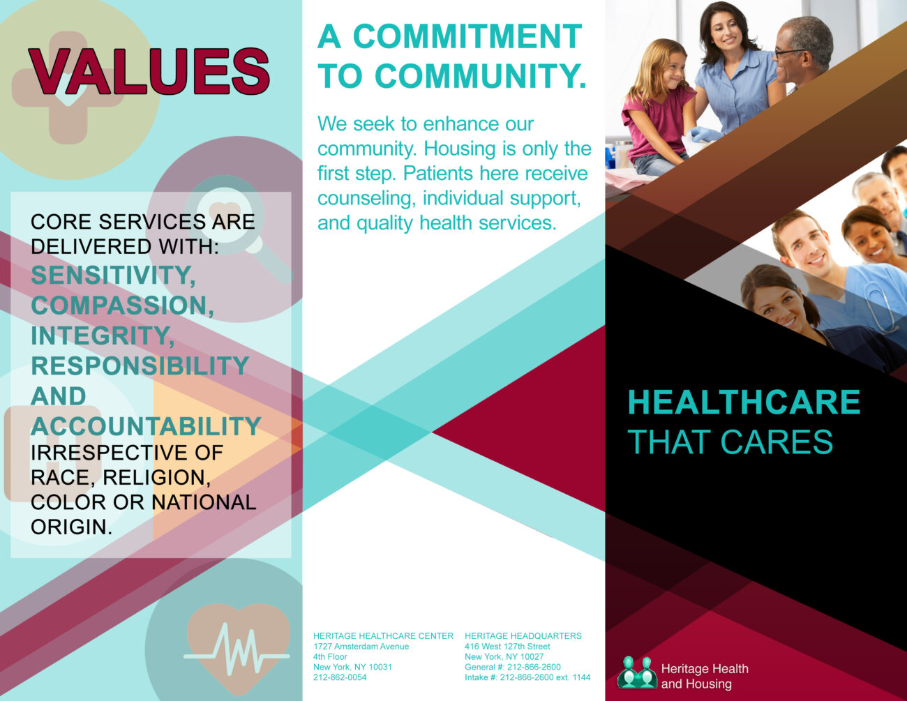 Heritage Health and Housing Brochure1(Outside)