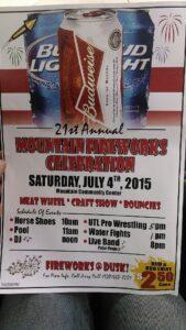 July celebration
