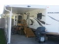 DuraBilt Arched Aluminum Awning