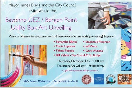 Bayonne UEZ – Bergen Point Utility Box Unveiling