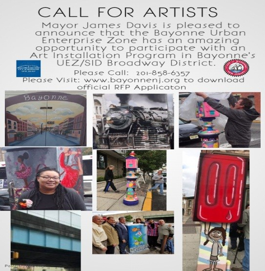 Artists submission deadline 3/9/2018