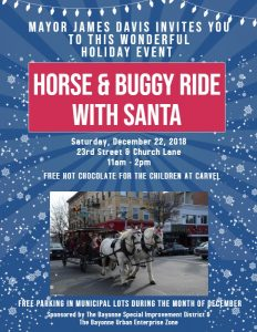Horse & Buggy Ride with Santa