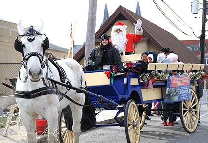 Horse and Buggy Ride with Santa