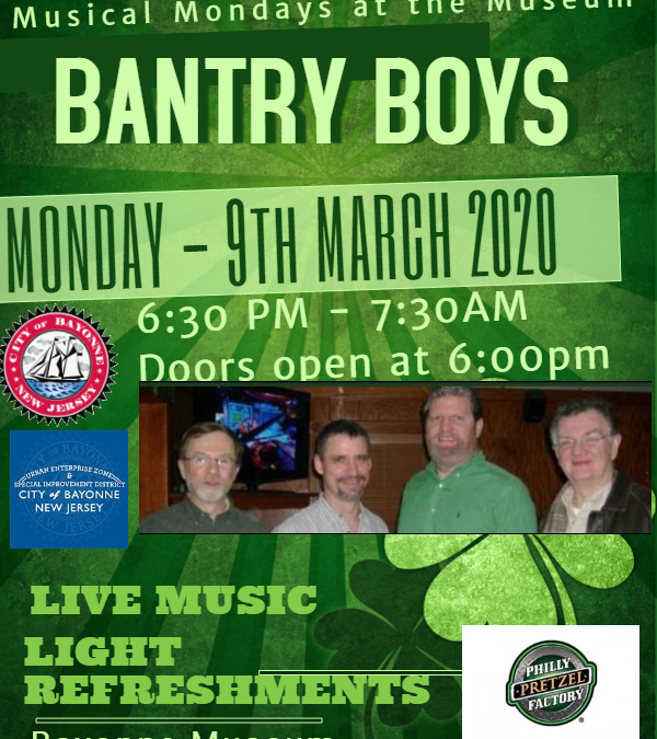 "Musical Mondays at the Museum: ""Bantry Boys"""