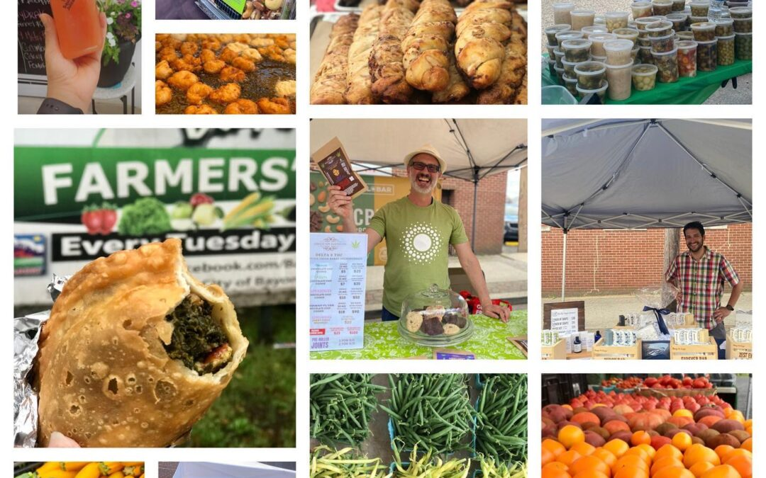 Bayonne's Farmers Market is open every Tuesday from 2pm – 7pm