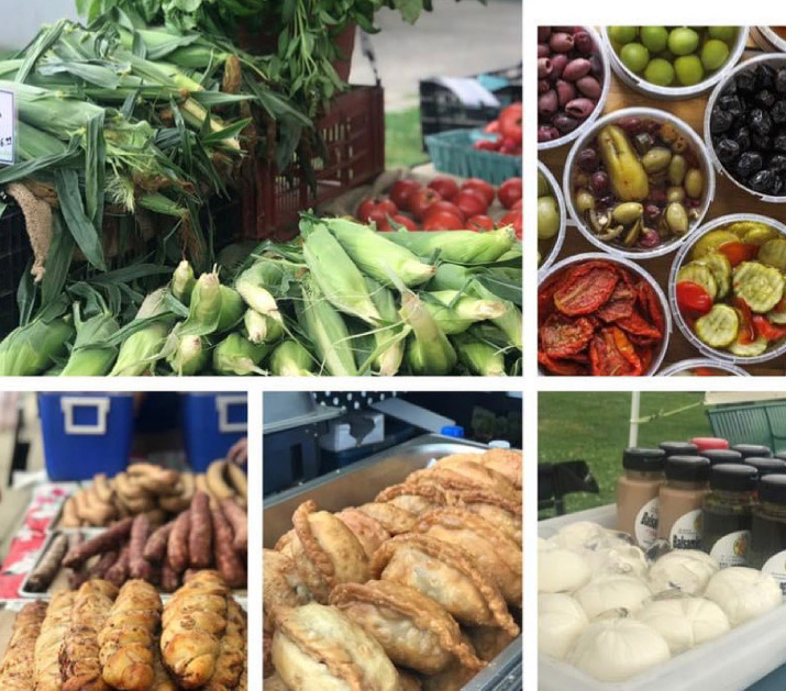 The Bayonne Farmers Market is open today from 2pm – 7pm every Tuesday