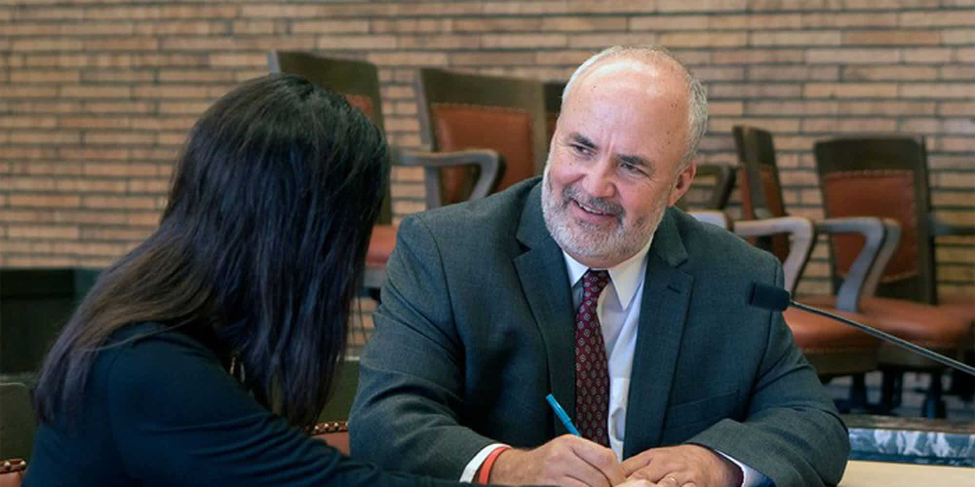 Jim Carlin Meeting with Client