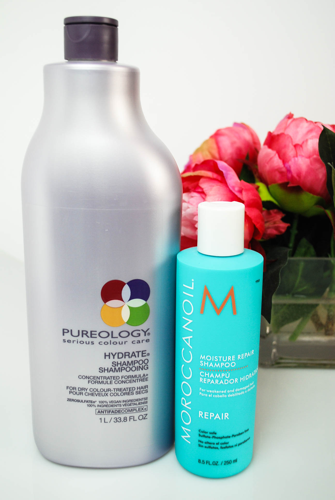 Product Review: Moroccan Oil vs. Pureology