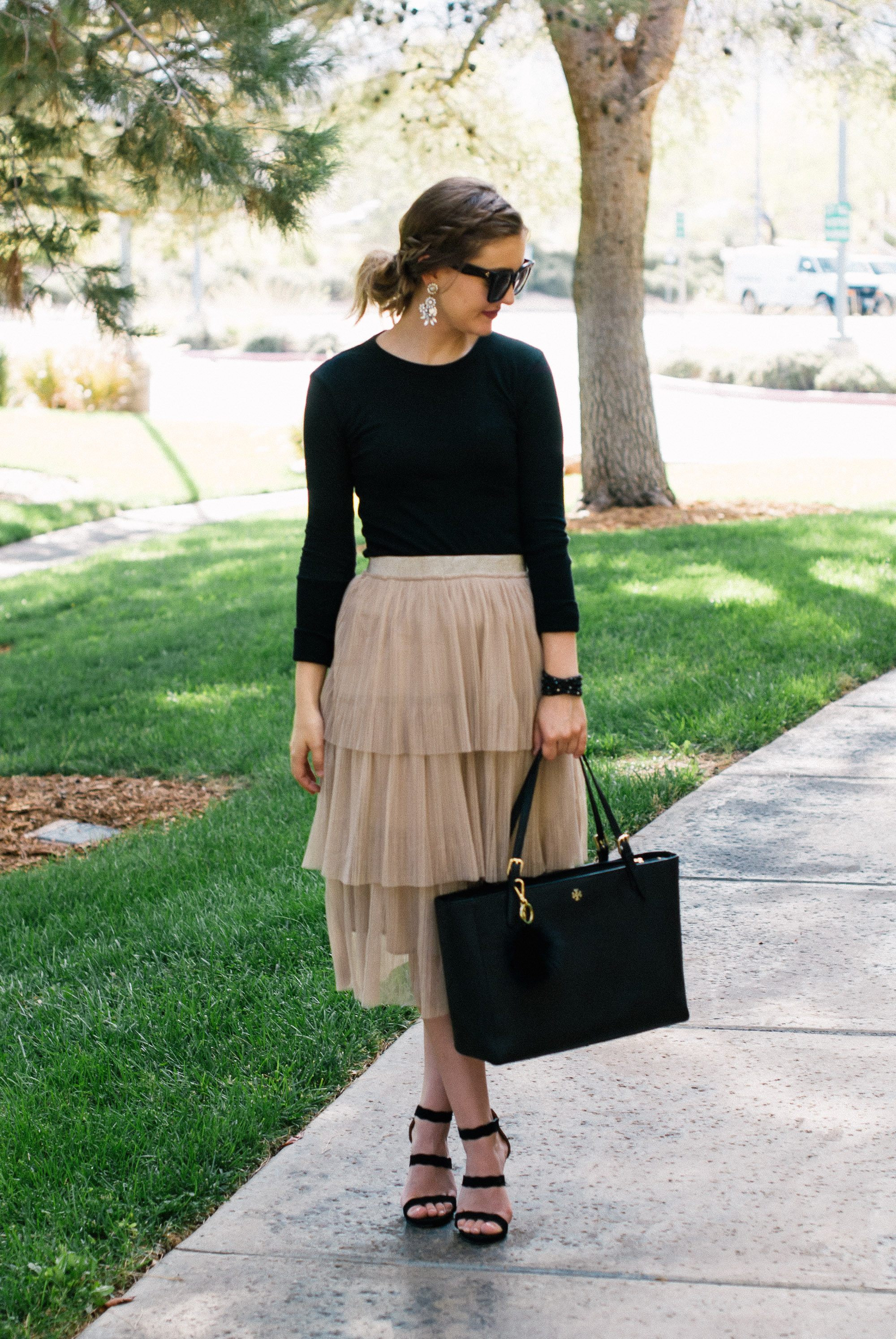 Sincerely Hales - Holiday Skirt