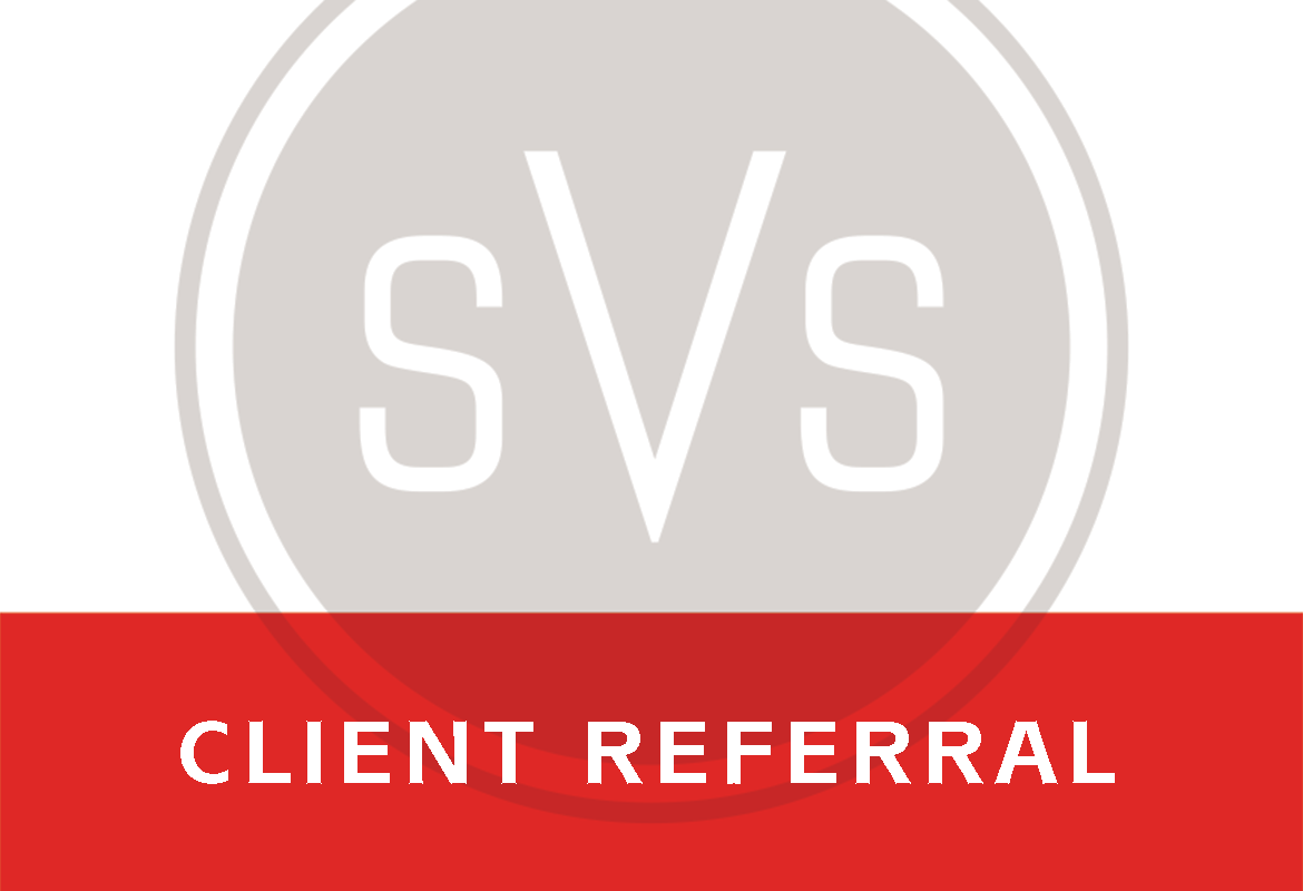 SVS | Client Referral