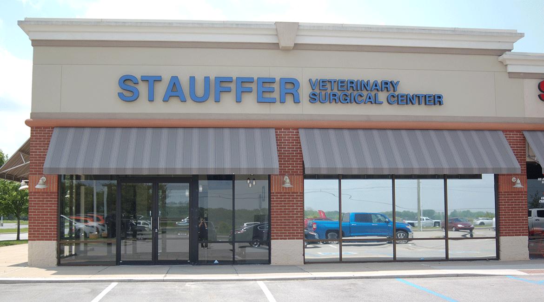 Stauffer Veterinary Surgical Center | Location Exterior