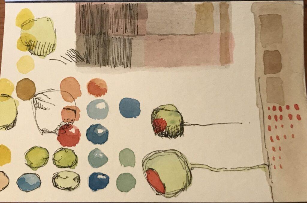 Small Watercolor Drawings