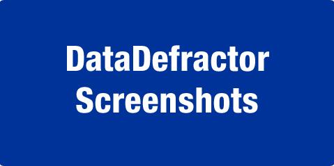 DataDefractor Screenshots