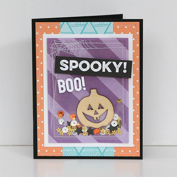 SpookyBooHalloweenCard JulianaMichaels