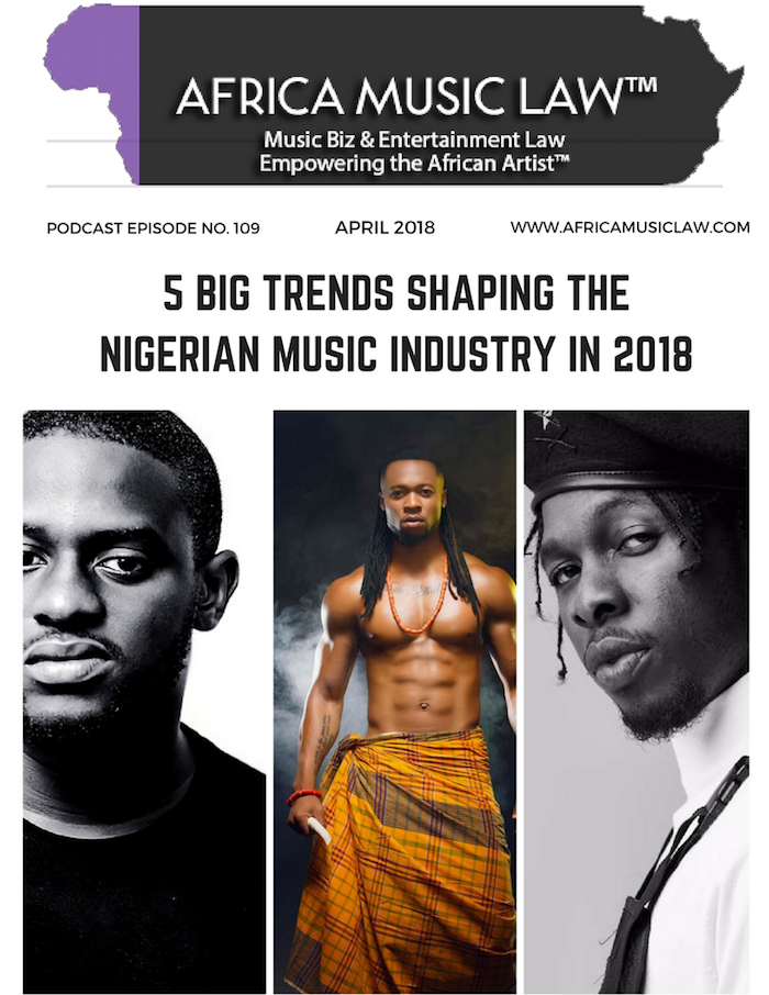 AML 109: 5 Big Trends Shaping the Nigerian Music Industry in