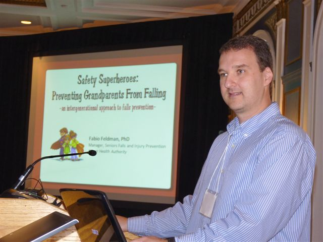 Safety Superheroes at the Falls Prevention in Seniors across the Continuum of Care Conference 2011