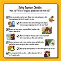 Download the Safety Superheroes Checklist & Challenge page