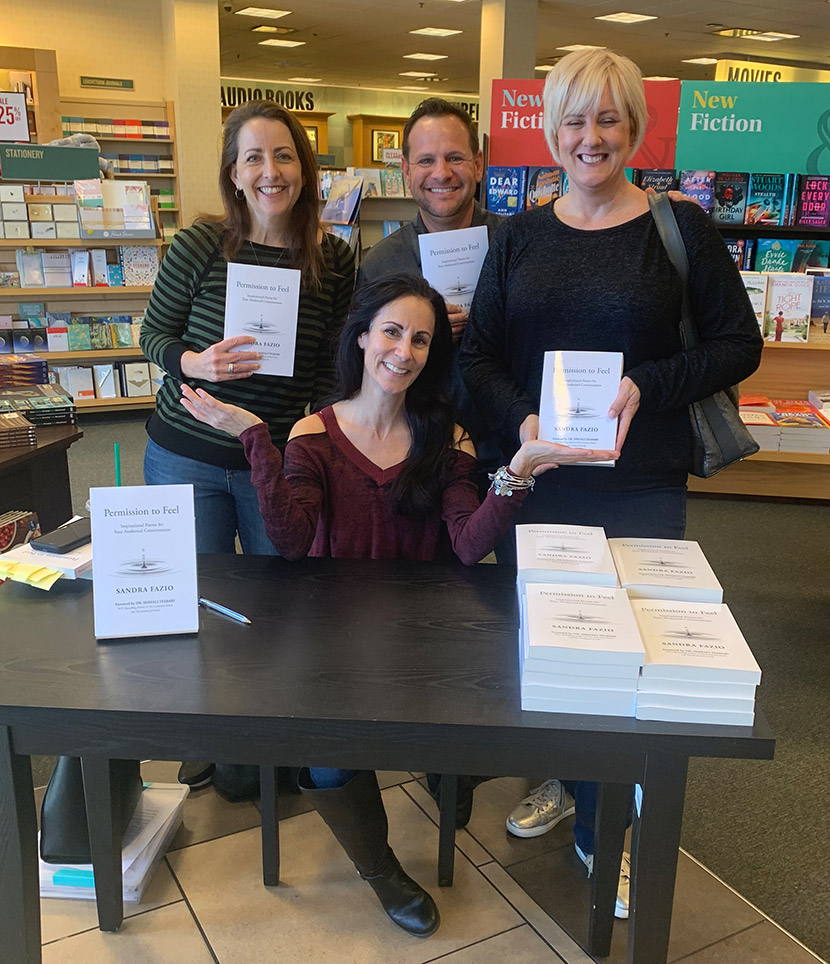 A Handful of Fans with Signed Copies