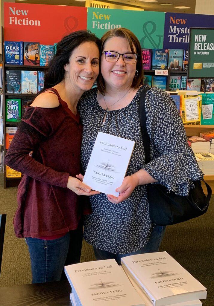 Meeting Sandra at Barnes & Noble