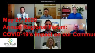Reflections on 2020 Annual Regional Forum