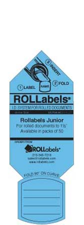 blue junior label