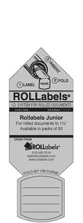Blueprint ID tags - Junior Gray Label