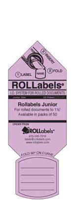 Blueprint ID tags - Junior Lavendar Label