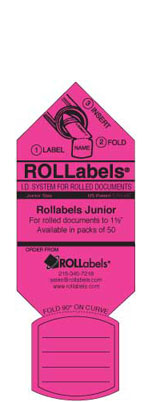 Blueprint ID tags - Junior Pink Label