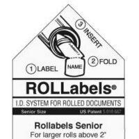 White Rollabels