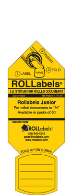 Junior Yellow label