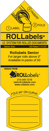 Senior Yellow label