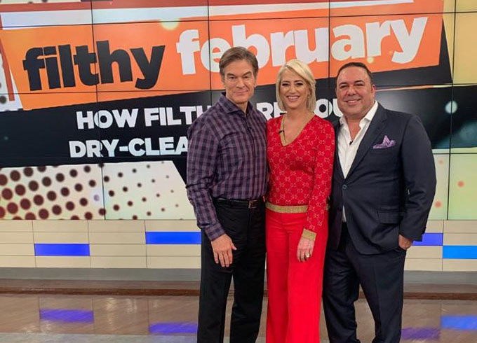 John Mahdessian and Dorinda Medley on the Dr. Oz Show