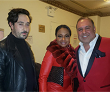Graehme Field, John Mahdessian and Phaedra Parks at the American Heart Association Go Red For Women Event