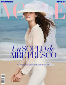 Vogue Espana Cover- A Breath of Fresh Air