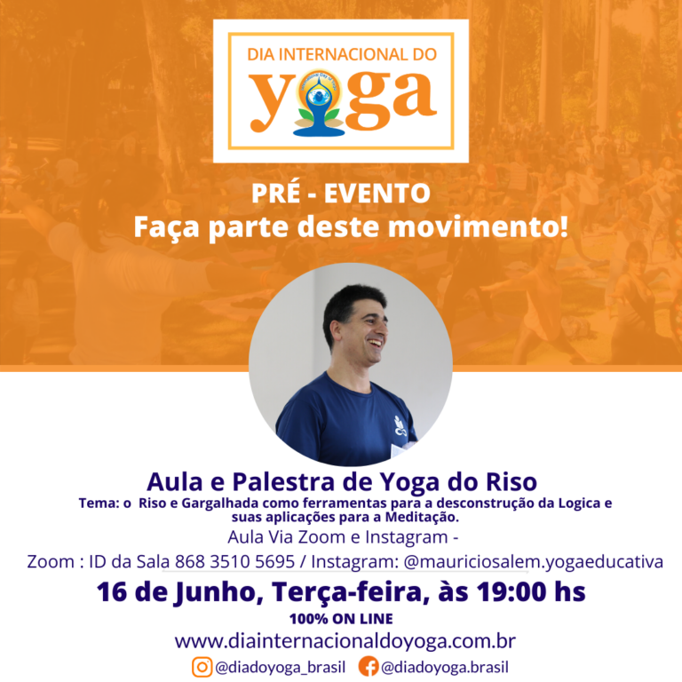 DIY-Aula Yoga do Riso - Mauricio Salem