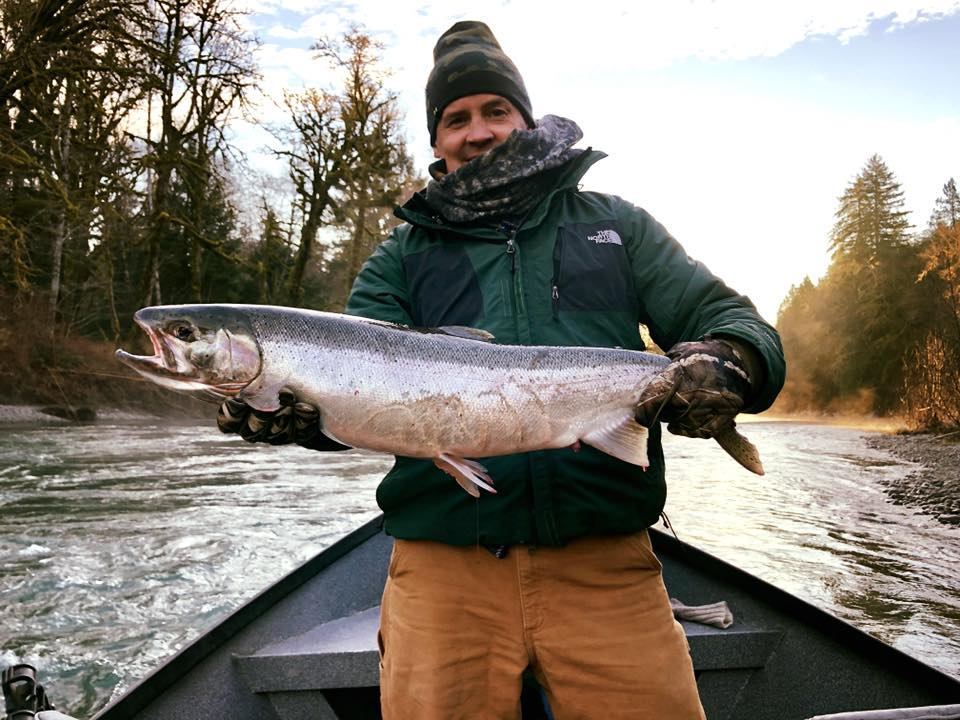 Chrome Winter Steelhead
