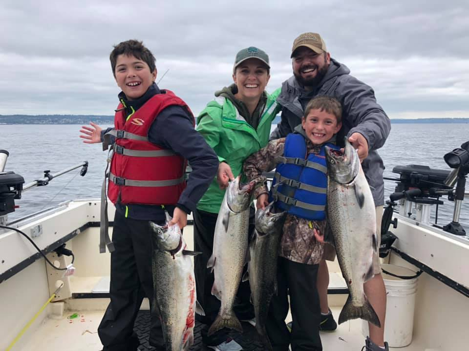 Family Fishing In Seattle