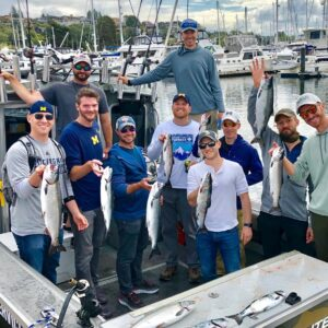 Bachelor Party Fishing In Seattle
