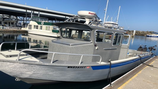 Seattle Fishing Charter Boat
