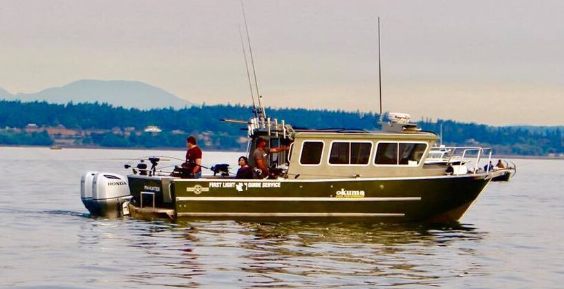 Group Fishing Charter In Puget Sound