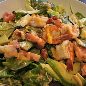 Most popular Thai-American salad at Le Moose.