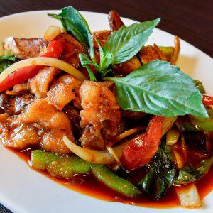 Favorite Thai food for Thai people who love to eat fish.