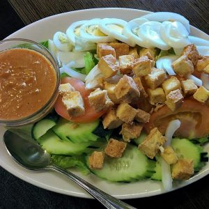Original salad Thai style.