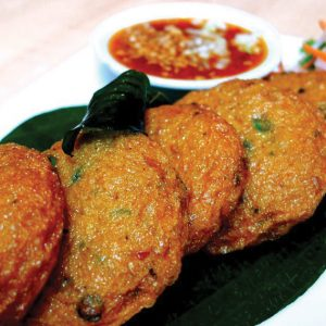 Spicy Thai fish cake