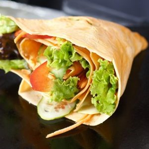 Veggie Crepes