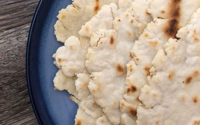 Grain Free Garlic Naan Bread