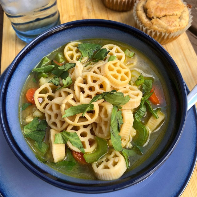 Chicken Noodle Soup in a Hurry
