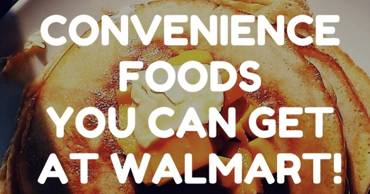 Eating Out of the Freezer: What to Eat When You Don't Feel like Cooking, The Walmart Edition
